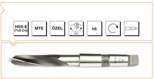 HSS-Co8 MTE Norm Hardox Drilling Bits