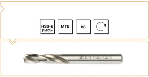 HSS-Co8 MTE Norm Spot Weld Drills - Long