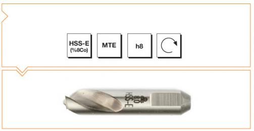 HSS-Co8 MTE Norm Spot Weld Drills - Short (SpotleVario Drills)