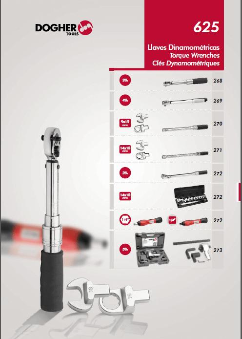 ابزارهای نیرویی وترک متر و آچارهای گشتاوری