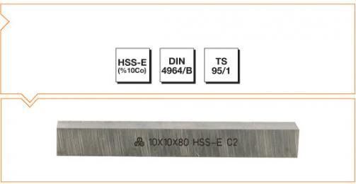 HSS-Co10 Din 4964/B Square Tool Bits