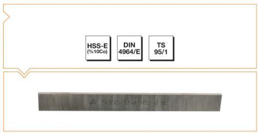 HSS-Co10 Din 4964/E Trapezoidal Tool Bits - Inch