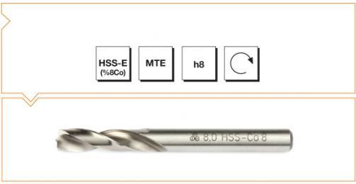 HSS-Co8 MTE Norm Spot Weld Drills - Long