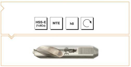 HSS-Co8 MTE Norm Spot Weld Drills - Short (SpotleVario Drills)