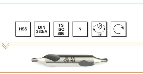 HSS Din 333A Center Drills