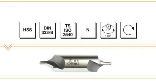 HSS Din 333/B Center Drills