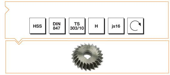HSS Din 847 Double Angle Milling Cutters