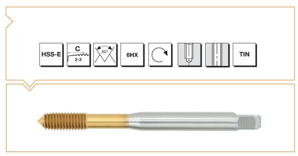 HSS-E Din 376 Forming Taps W-O Oil Nut