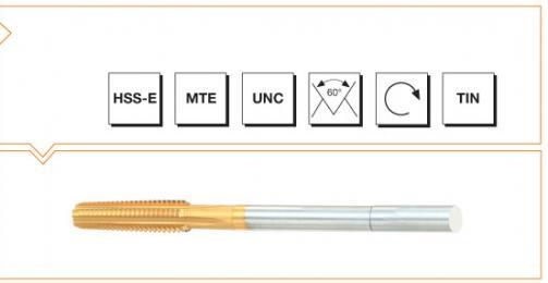 HSS-E MTE Norm Nut Taps - UNC Thread - TiN