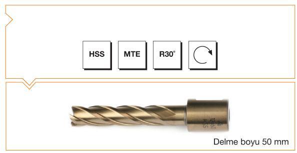 HSS MTE Norm Core Drill - Long