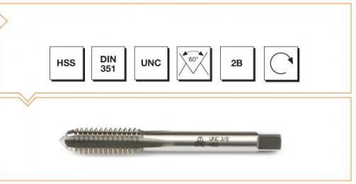 HSS MTE Norm Machine Taps - Short - UNC